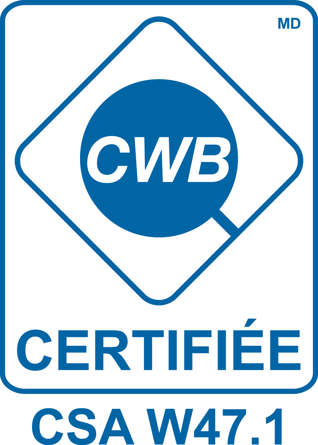 Certification CWB